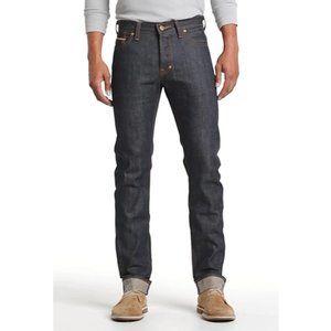 PRPS Rambler Straight Leg Dark Wash Raw Denim Jean